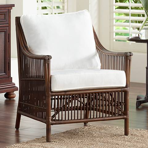 Panama Jack Bora Bora Cushioned Rattan Lounge Chair
