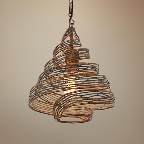 Varaluz Flow 10 Quot Wide Hammered Ore Mini Pendant Light