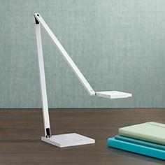 Sonneman Quattro Gloss White LED Task Desk Lamp
