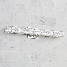 Bathroom Light Fixtures Silver ada, bathroom lighting | lamps plus