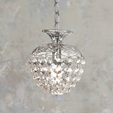 James R. Moder Granada Crystal Mini-Pendant Chandelier