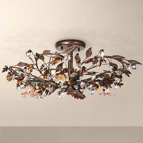 "Ghia Collection 27"" Wide Ceiling Light Fixture"