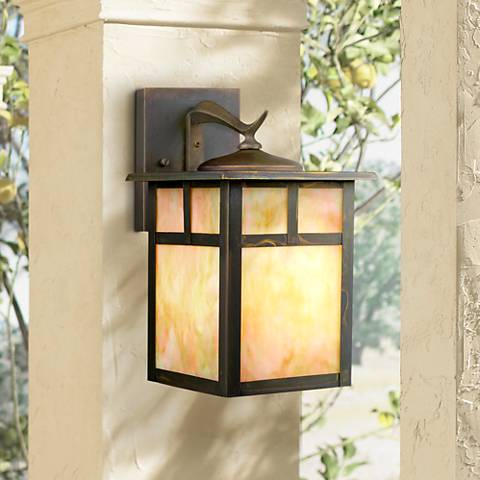 "Kichler Alameda  11 1/2"" High Outdoor Wall Light"