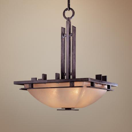 "Lineage Collection 15 1/2"" Wide Pendant Chandelier"