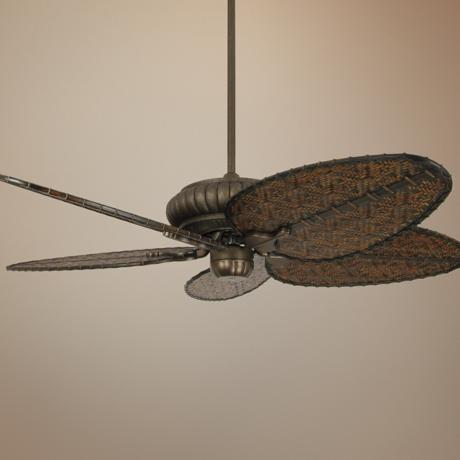"52"" Fanimation Belleria Aged Bronze Ceiling Fan"