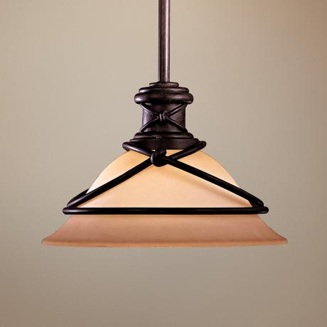 Minka Aspen II Collection Mini Pendant Light