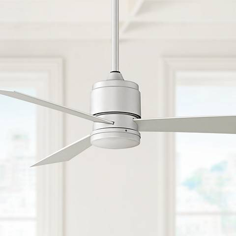 "54"" Fanimation Zonix Satin Nickel Ceiling Fan"