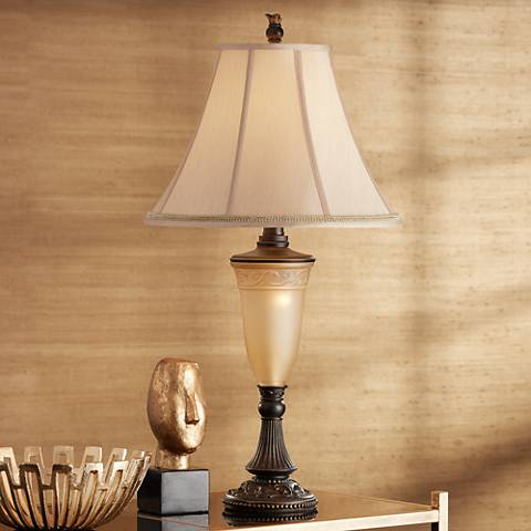 Kathy Ireland Sorrento Night Light Table Lamp