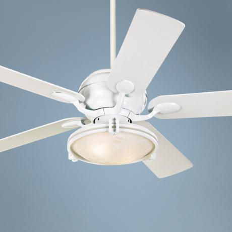 "52"" Casa Optima™ Marble Glass Ceiling Fan with Remote"
