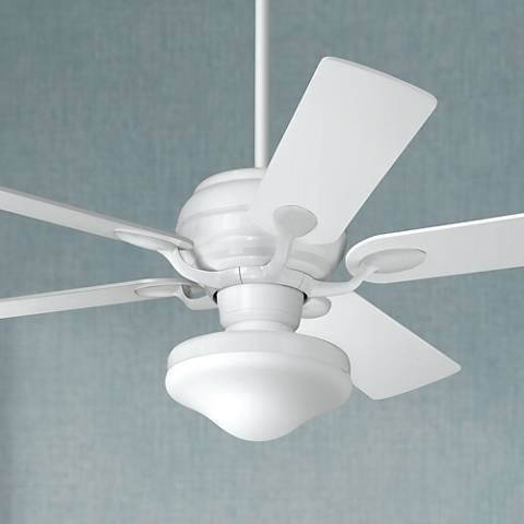 "52"" Casa Optima™ White Finish Ceiling Fan"