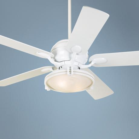 "52"" Casa Optima™ White Ceiling Fan"