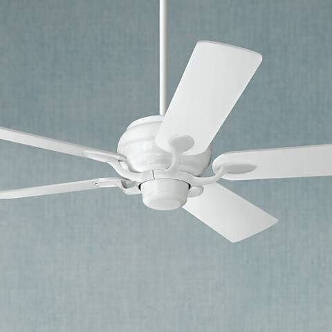 "52"" Casa Vieja® Casa Optima™ White Ceiling Fan"