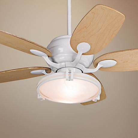 "43"" Casa Vieja Casa Optima Maple Ceiling Fan with Remote"