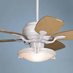 "43"" Casa Vieja Casa Optima™ Maple Blades Ceiling Fan"