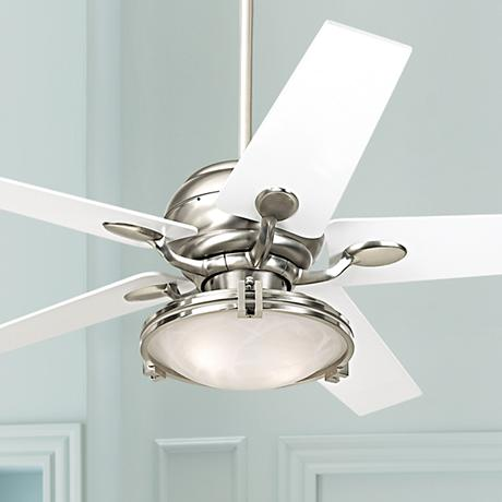 Casa Optima™ Tapered White Blade Ceiling Fan