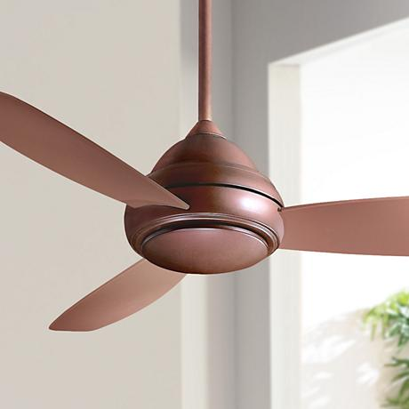 "52"" Minka Concept 1 Oil Rubbed Bronze Ceiling Fan"