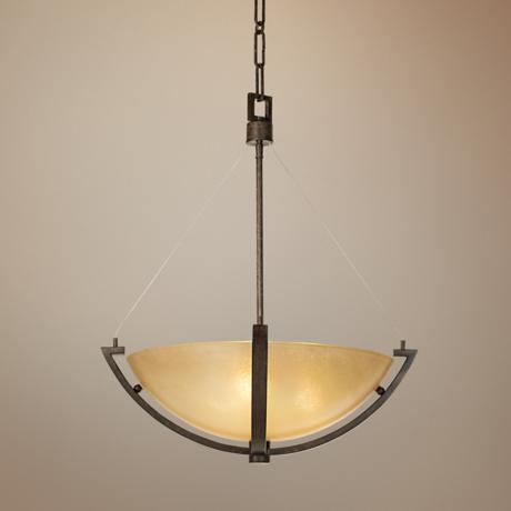 Raiden Collection Scavo Glass Pendant Chandelier