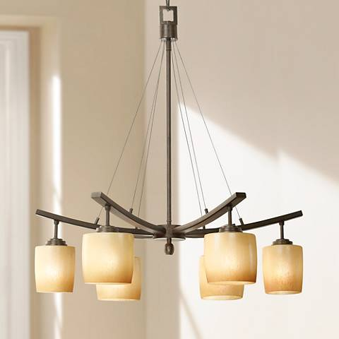 Raiden Collection Six Downlights Chandelier