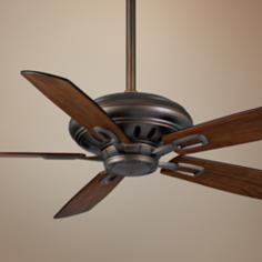 "60"" Holliston™ Oil-Rubbed Bronze Ceiling Fan"