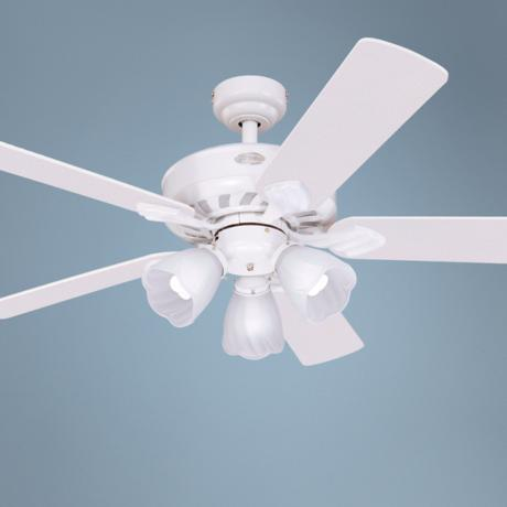 "52"" Westinghouse Autumn Breeze ENERGY STAR White Ceiling Fan"