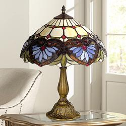 Robert Louis Tiffany 21 In 25 In Table Lamps Lamps Plus Open