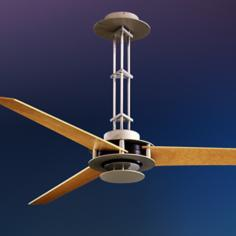 "56"" Minka Aire San Francisco Brushed Steel Ceiling Fan"