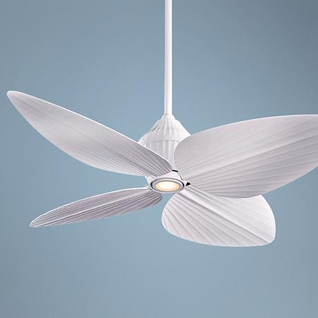 "52"" Minka Aire Gauguin™ Flat White Outdoor Ceiling Fan"
