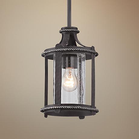 "Palencia 6 1/2""W Pardo Wash Mini Pendant Light"