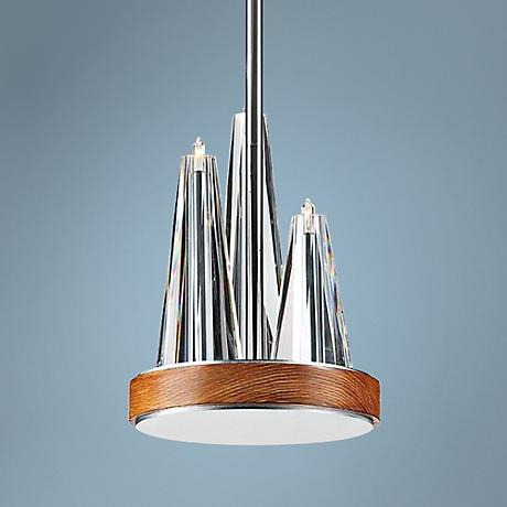 "Eurofase Skyline 6 1/4""W Chrome 3-Light Mini Pendant"