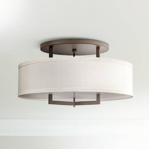"Hinkley Hampton 26"" Wide Buckeye Bronze Ceiling Light"