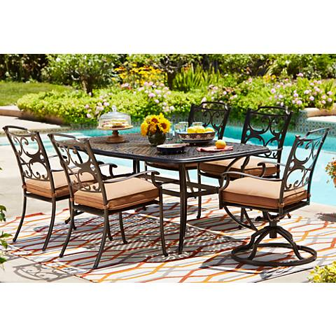 Monarch Pointe Rectangle Outdoor Dining Table