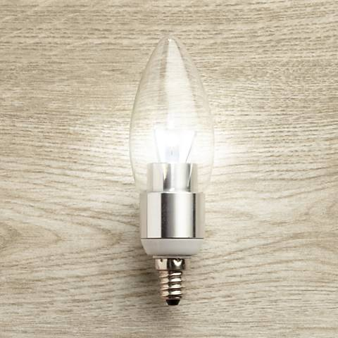 5 Watt Dimmable Candelabra LED Light Bulb