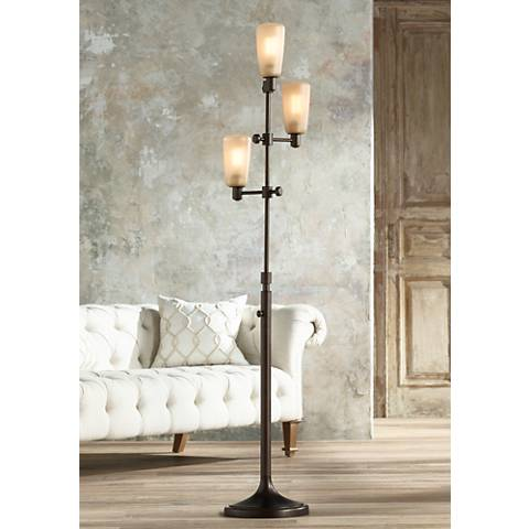 Ascot Oil Rubbed Bronze 3-Light Tree Floor Lamp