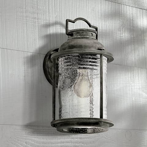"Kichler Ashland Bay 13 1/2"" High Zinc Outdoor Wall Light"