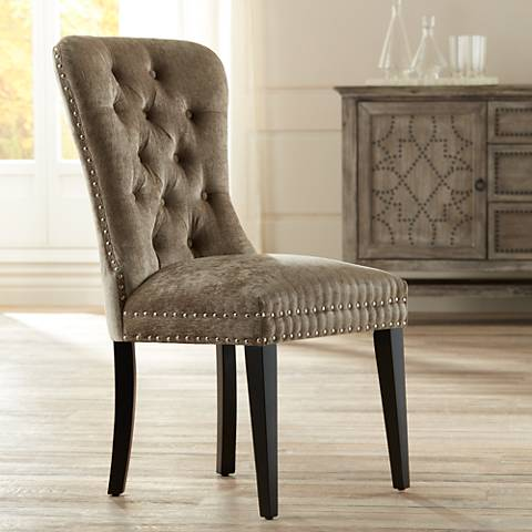 Dresden Taupe Dining Chair