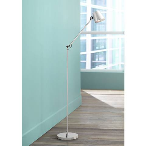 George Kovacs Maxwell Chrome LED Floor Lamp