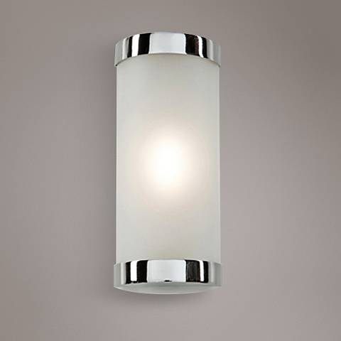 "Artcraft Turin 8"" High Chrome LED Wall Sconce"