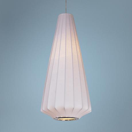 "Maxim Cocoon 11"" Wide 1-Light Polished Chrome Mini Pendant"