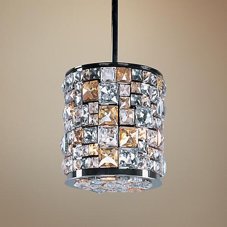 "Maxim Fifth Avenue 8 1/2""W Bronze 3-Light Mini Pendant"