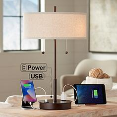 USB Table Lamps
