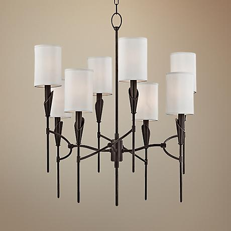 "Hudson Valley Tate 26 1/2"" Wide 8-Light Bronze Chandelier"