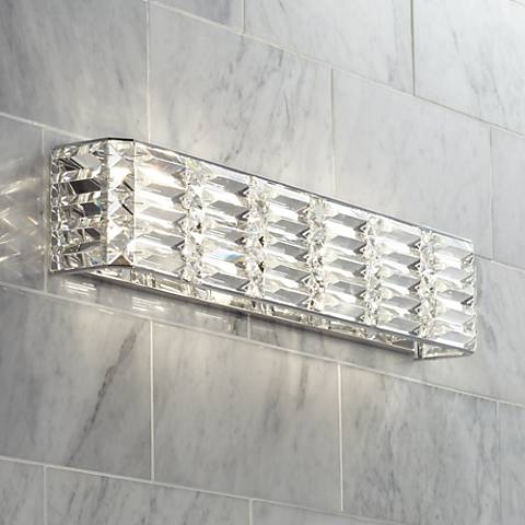 "Possini Euro Vivienne 24 1/2"" Wide Bath Light"