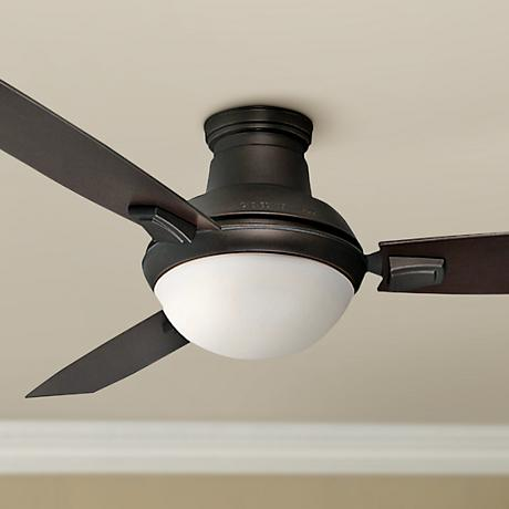 "44"" Casablanca Verse Dual Mount Maiden Bronze Ceiling Fan"