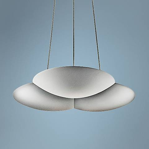 "Sonneman Big Cloud 12 1/2"" Wide Satin Uplight LED Pendant"