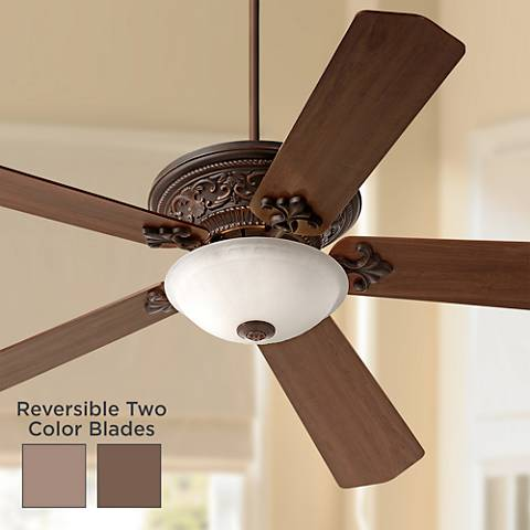 "70"" Vista Del Sol Bronze Ceiling Fan with Light Kit"