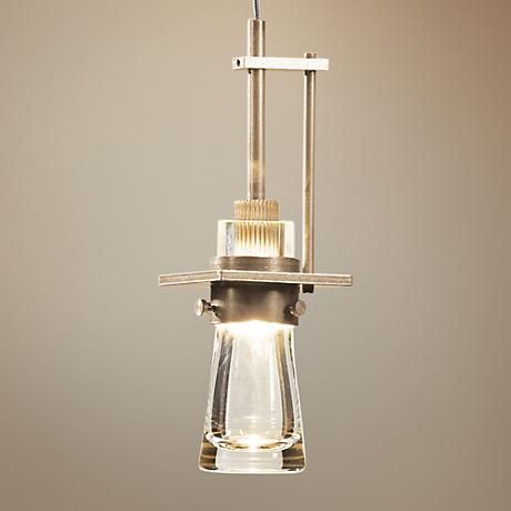 "Erlenmeyer 3 1/2"" Wide Gold Ambient Mini Pendant"