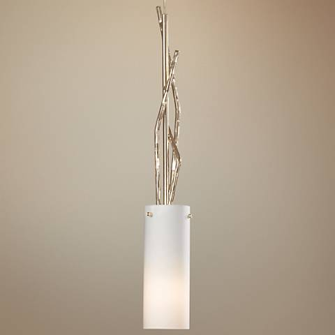 "Hubbardton Forge Brindille 21"" High Soft Gold Mini Pendant"