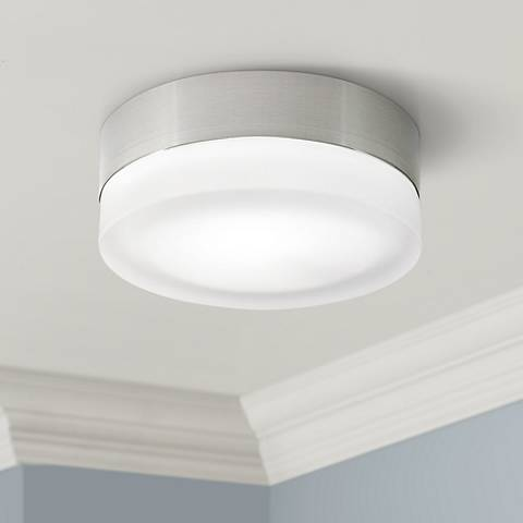 "Tech Lighting TL 360 Satin Nickel 6"" Wide Ceiling Light"