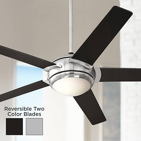 "52"" Casa Probe III Brushed Nickel Ceiling Fan"