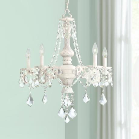 "Kathy Ireland Chateau de Conde 26"" Wide 5 Light Chandelier"